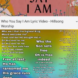 whoyousayiam hillsong chosen notforsaken forgiven freetoedit