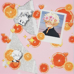 bakugou katsuki katsukibakugou lemons oranges freetoedit