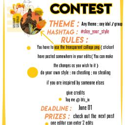 slay_your_style freetoedit kpopedits kpop contest kpopcontest remixit slay_your_style