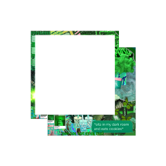 frame greenaesthetic aesthetic green square freetoedit