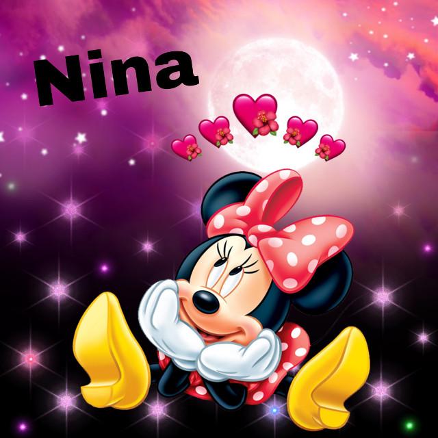 #nina#hello#💛💙🧡💚#minie