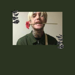 freetoedit lilpeep lilpeepforever roses green scary