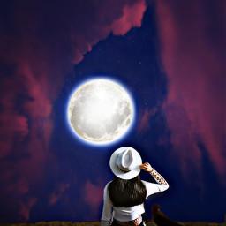 freetoedit myedit editedbyme mycreativity moon