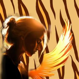 freetoedit libre girl wing or ecanimalprints animalprints