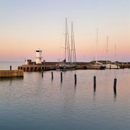 harbor sea sweden peace tranquillity