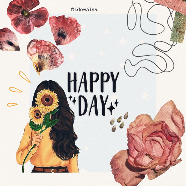 Happy day! ✨ #happy #collage #collageart #vintage #aesthetic  #freetoedit