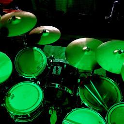 pcgreenminimalism greenminimalism freetoedit drums
