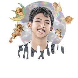 freetoedit angel angels boy art