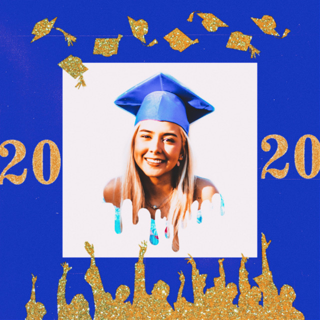 #graduation #2020 #senior #collage #graduationday #freetoedit