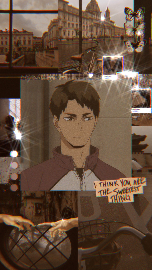 """🦋 Haikyuu —— Hai luvs!! ~ I really like how the brown edits look, mainly because the sparkles aren't everywhere. —— """"No matter how capable you lot may be, you'll see that we never weaken."""" ~ Wakatoshi Ushijima —— Song recommendation: Alewife ~ Clairo —— tags; #anime #animeedit #animeaesthetic #aesthetic #edit #haikyuu #wakatoshi #ushijima #ushijimawakatoshi #haikyuu!! #haikyuuedit #haikyuuwallpaper #shiratorizawa"""