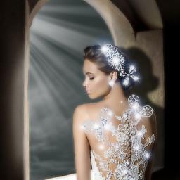 bride window sparklelightbrush light myedit freetoedit