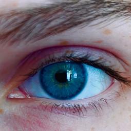 eye iphone11 blue clear oceaneyes freetoedit