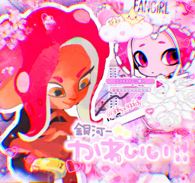 agent 8 (╹◡╹)♡   #agent8 #splatoon #splatoon2 #splatoonedit #splatoon2edit #splatoonoctoling #splatoon2octoling #octoexpansion  this is not #freetoedit or #remixit stinkys 😡