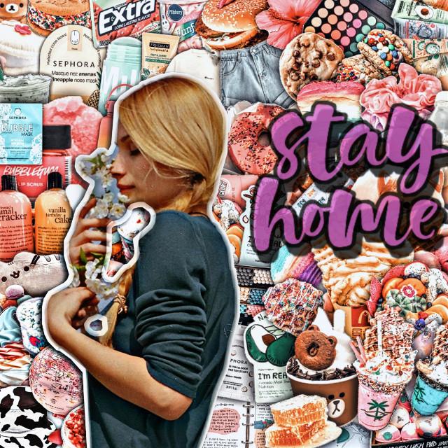 #freetoedit #stayhome