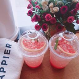 freetoedit cafe drink grapefruit