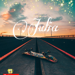 freetoedit skateboarding supreme ombrebackground stars