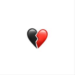 freetoedit heart broken iphone emoji