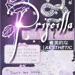 purpleaesthetic iphonewallpaper priscilla freetoedit