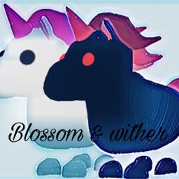 freetoedit unicorn roblox adoptme