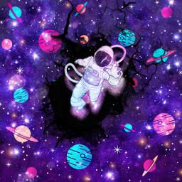 freetoedit galaxy fantasy challenge astronaut eccutecosmos cutecosmos