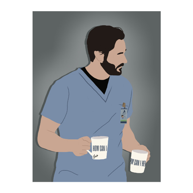 👨‍⚕☕ #freetoedit #drawing #outline #vector #graphic #drawingart #outlineart #vectorart #graphicart #fanart portrait #ryaneggold #drmaxgoodwin #newamsterdam