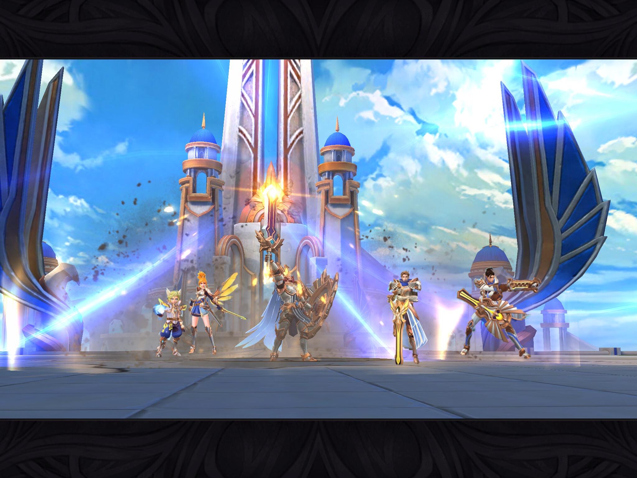 Mobile Legends Lightborn Squad Image By Mobilelegends