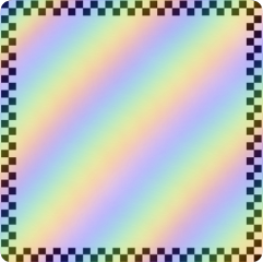 freetoedit rainbow checkers aesthetic filter