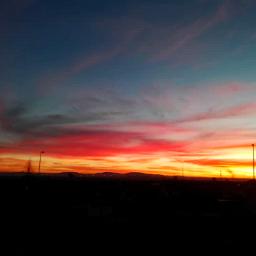stayinspired sunset sunrise sky skyline freetoedit
