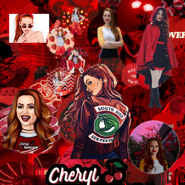#freetoedit #editforme #cherylblossom #cherryblossom #riverdale #riverdaleedits @cheryl1901 @blossomcheryl93