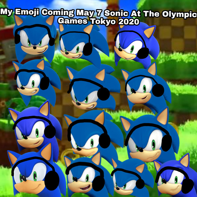 My Emoji Coming May 7 Sonic At The Olympic Games Tokyo 2020