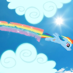 rainbowdash mlpinreallife mlp freetoedit