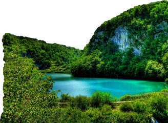freetoedit lake paradise green forest