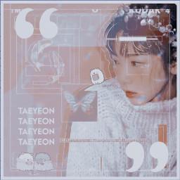 taeyeon snsd kpop snsdtaeyeon kpopedit notfreetoedit