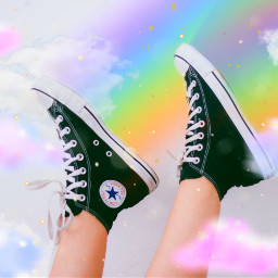 edit replay rainbow shoe remix freetoedit