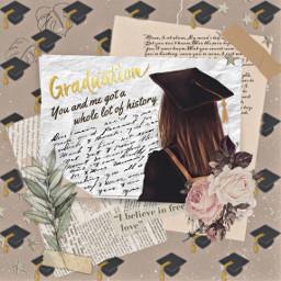 graduation leaves leaf flower prom school freetoedit