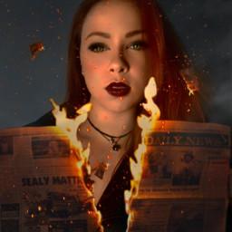 fire darkside witch freetoedit