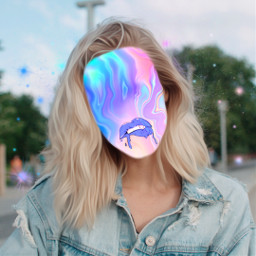 freetoedit hologram holographic face slime