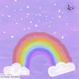 followers 100 100followers rainbow purple freetoedit