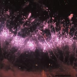 firework freetoedit purple morado