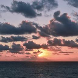thesungoesdown nature seaview beachmood horizon freetoedit