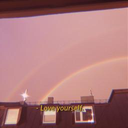freetoedit rainbow loveyourself