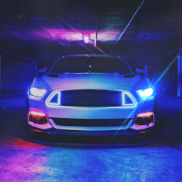 unsplash car drive sportscar color