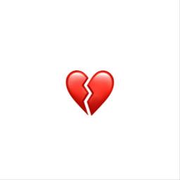 freetoedit red black heart broken