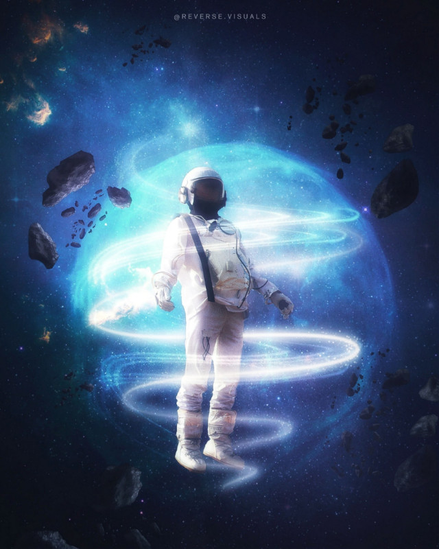 Interstellar III  Op by unsplash #picsart #madewithpicsart #papicks #spaceart #fantasy #surreality #galaxy #interstellar