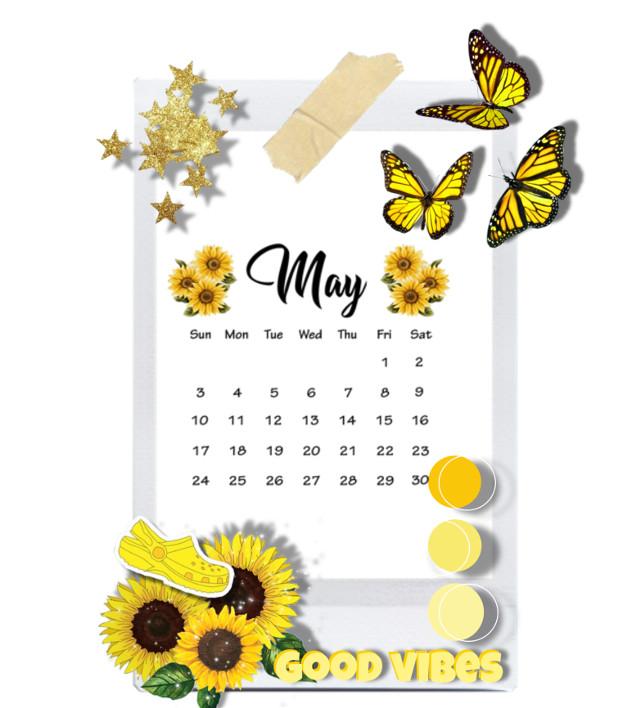 #freetoedit #maycalendarchallenge #maycalendar #sunflowers #sunflower #goodvibes #butterflies #yellowflowers #stars #yellow #yellowbutterflies #aesthetic #frame