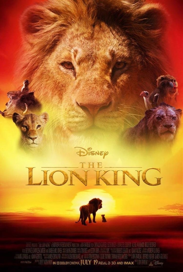 INFO POINT🎬  Title: The lion king  Starring: Donald Glover, Seth Rogen Director: Jon Favreau Year: 2019 Genre: Animation, for families Running Time: 2h Country of production: United States Plot: The story of The Lion King takes place in an African kingdom called the Pride Lands, where a lion rules over the other animals as king. Rating: 3/5 PG  #film #movie #netflix #thelionking #disney