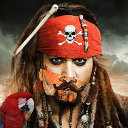 freetoedit johnnydepp piratesofthecaribbean canvaseffects rccanvaseffects