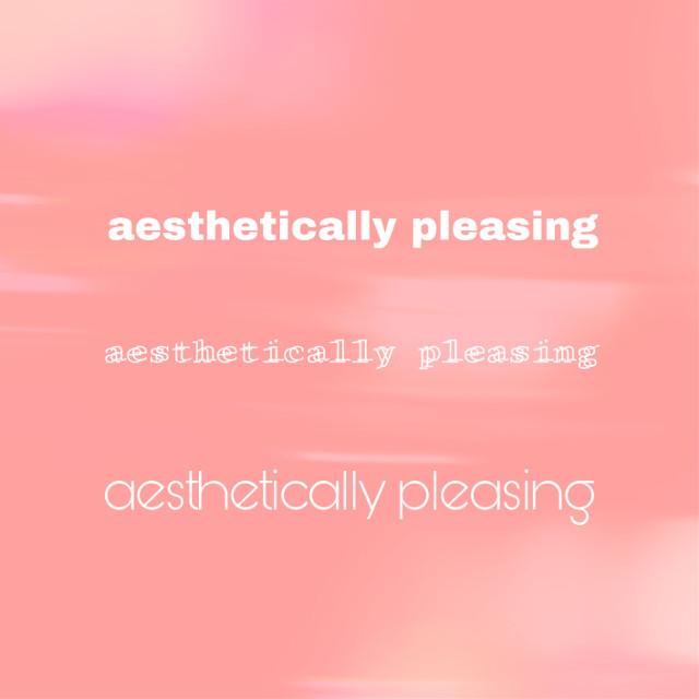 #aesthetic #pleasing #aestheticallypleasing #pink #white #freetoedit
