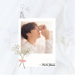 freetoedit jimin white serendipity flower