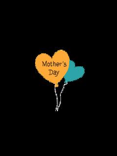 freetoedit mothersday mom balloon cute